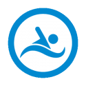 This image shows an icon of swimming